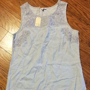 Boutique soft and light denim wash dress